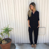 Tysa Yes We Can Jumpsuit in Black