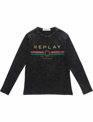 Replay Girl's Sg7091.065.22658m Long Sleeve Top