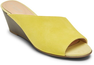 Rockport Taylor Asymmetric Wedge Slide Sandal