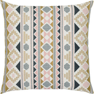 Elaine Smith Roca Stripe Sunbrella Pillow