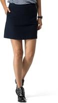 Tommy Hilfiger Final Sale-Ribbed A-Line Skirt