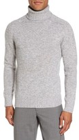 Eleventy Men's Marled Turtleneck Sweater