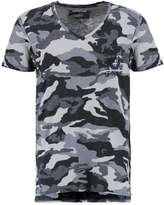 True Religion Camo Print Tshirt Black