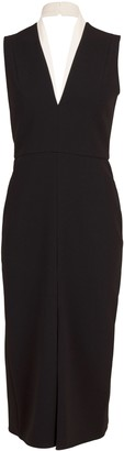 Victoria Beckham Tuxedo Fitted Dress