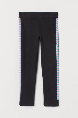 H&M Leggings with Sequins - Black