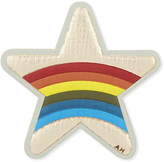 Anya Hindmarch Star rainbow leather sticker