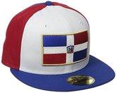 New Era Cap Men's Spirit Dominican Republic Fitted Hat