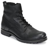 Jack Jones Jack Jones JFW ORCA LEATHER men's Mid Boots in Black