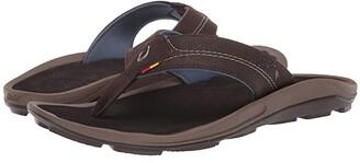 OluKai Kipi (Black/Black) Men's Sandals