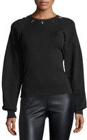 Thierry Mugler Embellished Full-Sleeve Sweater