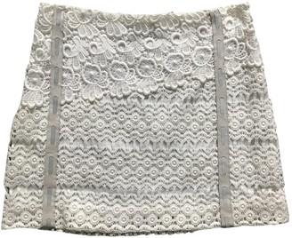 Maje Spring Summer 2018 Beige Linen Skirt for Women