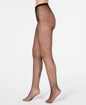 INC International Concepts Inc Women's Core Fishnet Tights, Created for Macy's