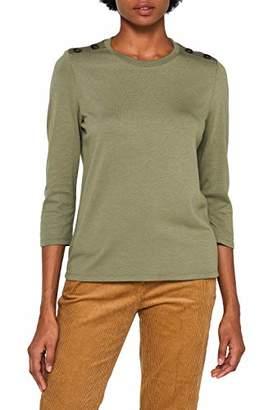 Esprit Women's 099ee1k067 Long Sleeve Top,Large