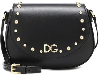 Dolce & Gabbana Kids Leather shoulder bag