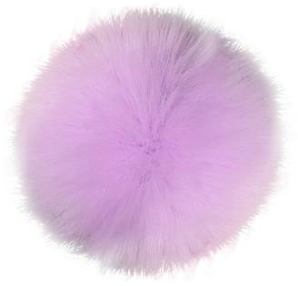 Faux Fox Fur Pompom Ball SOMESUN DIY 10cm Fur Ball Hat Accessories Raccoon Hair Ball Fur Fluffy Ball for Knitting Hats (10 CM