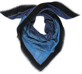 Gucci Two-Tone Printed Scarf w/ Tags
