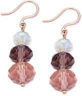 Charter Club Triple Stone Drop Earrings, Only at Macy's
