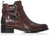 Moda In Pelle Melinda Burgundy Leather