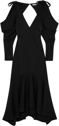 REJINA PYO Camille Open-back Crepe Midi Dress