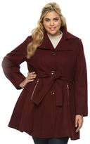 Apt. 9 Plus Size Peplum Wool Blend Jacket