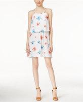 CeCe Floral-Print Popover Dress