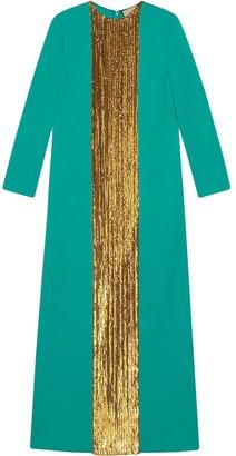 Gucci Sequin-Embellished Long Dress