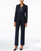 Le Suit Three-Piece One-Button Pantsuit
