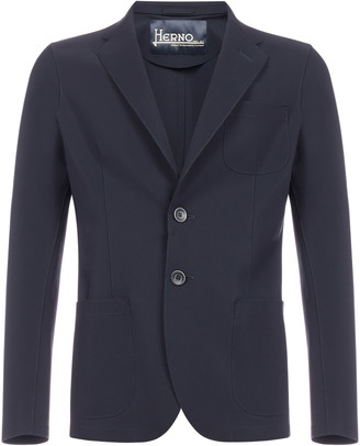Herno Single-breasted Nylon Blazer