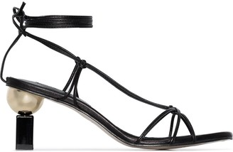 YUUL YIE Trophy 70 barely there sandals