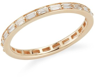 Dana Rebecca Designs 14kt yellow gold Sadie Pearl diamond eternity ring
