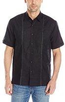 Cubavera Men's Short-Sleeve Two-Pocket Shirt