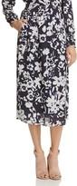 Lafayette 148 New York Camrie Floral Midi Skirt