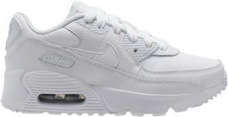 Nike 90 Running Shoes - White / Met Silver
