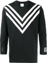 Adidas By White Mountaineering - raglan t-shirt - men - Cotton/Polyester - M
