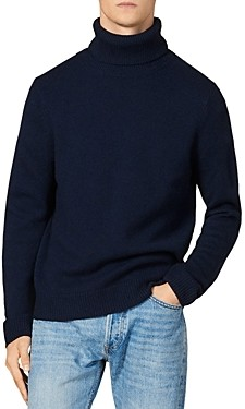 Sandro Yak-Blend Turtleneck Sweater