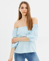 DECJUBA Skylar Off Shoulder Top
