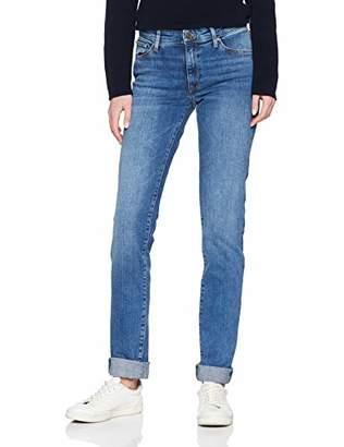 Cross Jeanswear Co. Cross Jeans Women's Anya Slim Jeans, (Mid Blue 153), W30/L36 (Size: 30/36)
