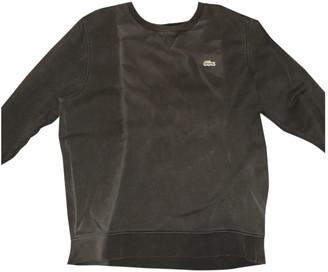 Lacoste Black Cotton Knitwear & Sweatshirts