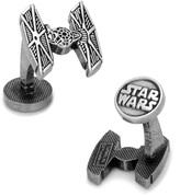 Star Wars Antiqued TIE Fighter Cufflinks