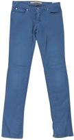 Chloé Blue Cotton Jeans