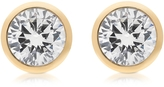 Michael Kors Brilliance Metal and Crystal Stud Earrings
