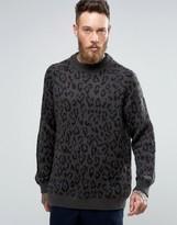 Weekday Leopold Leopard Jumper