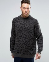 Weekday Leopold Leopard Sweater