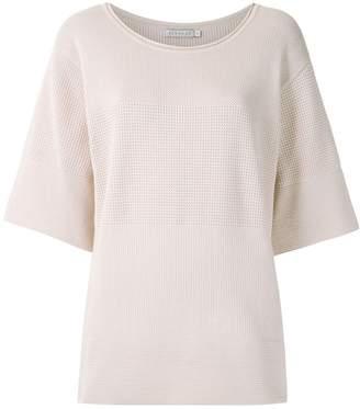 Alcaçuz Nanine knit blouse