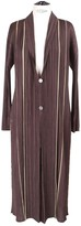 Pleats Please Brown Polyester Coats