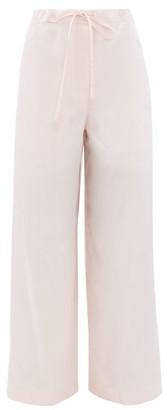 Jil Sander Satin Pyjama Trousers - Light Pink