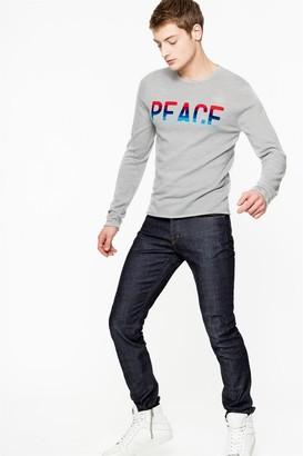 Zadig & Voltaire David Crop Brut Jeans