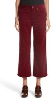 Marc Jacobs Women's Crop Flare Corduroy Pants