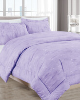 Thumbnail for your product : Melange Home Barbarian Sleepy Texture 3Pc Comforter Set Lilac