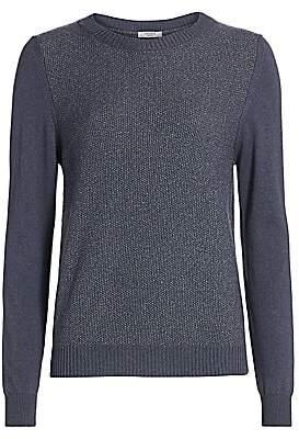Peserico Women's Lurex Wool Blend Sweater